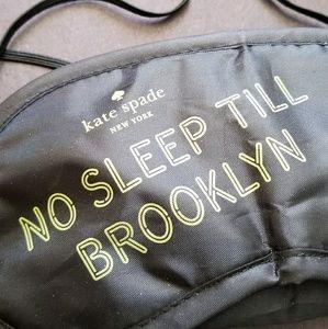 kate spade Accessories - kate spade ♤ eye mask {No Sleep Till Brooklyn }